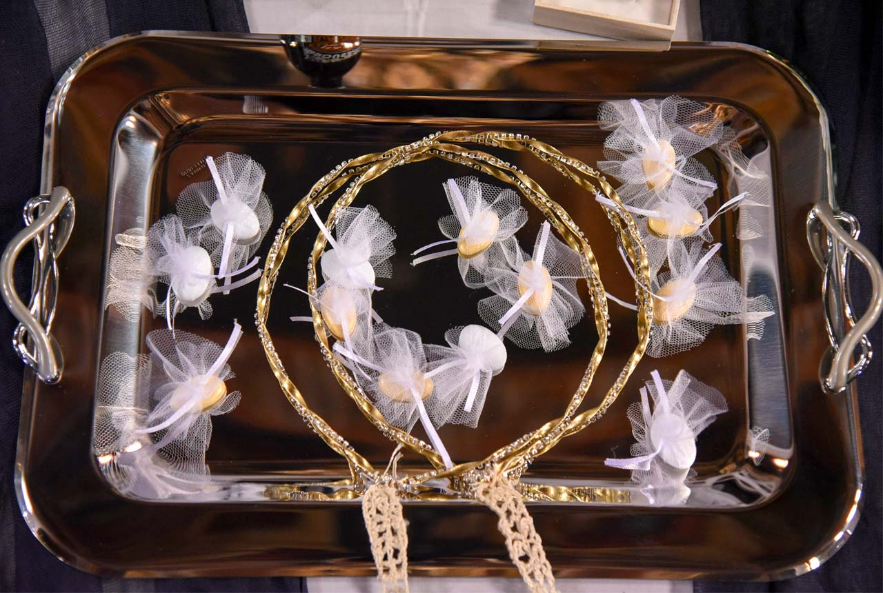 #wedding crowns #orthodox #destination wedding #nafplio #Greece wedding