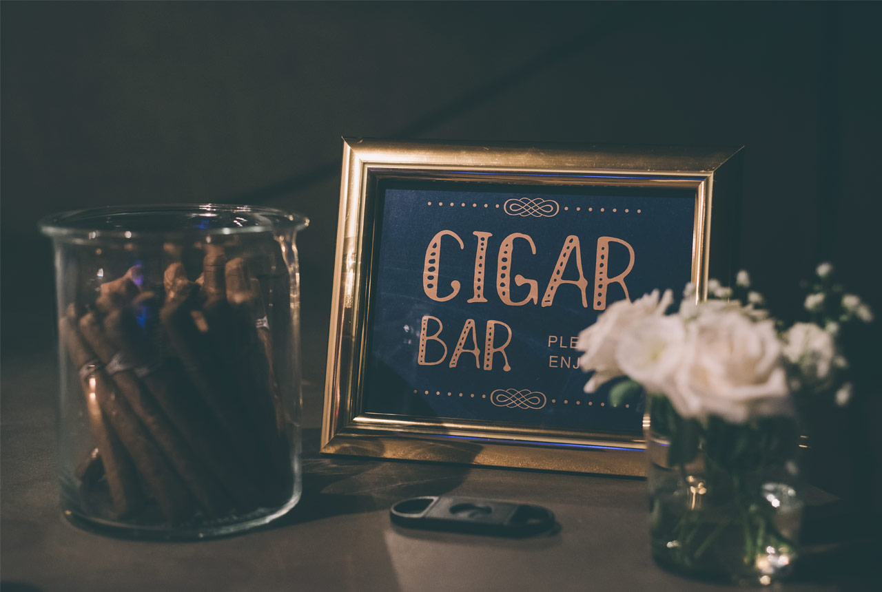 #wedding decoration #cigar bar #Greece wedding #blue navy