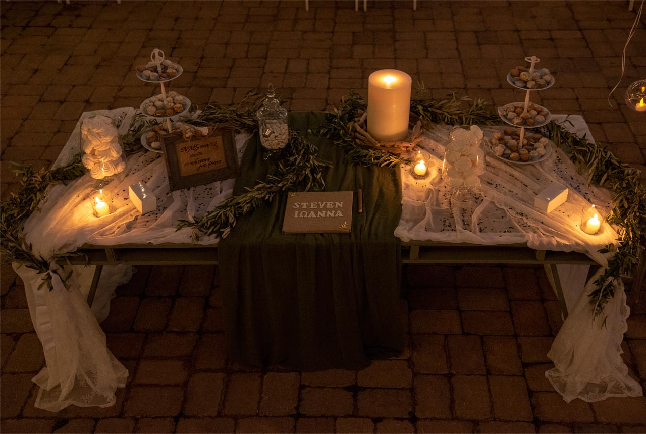 #wishes table #γαμος #διακόσμηση #wedding decoration #ελιά #olive decoration