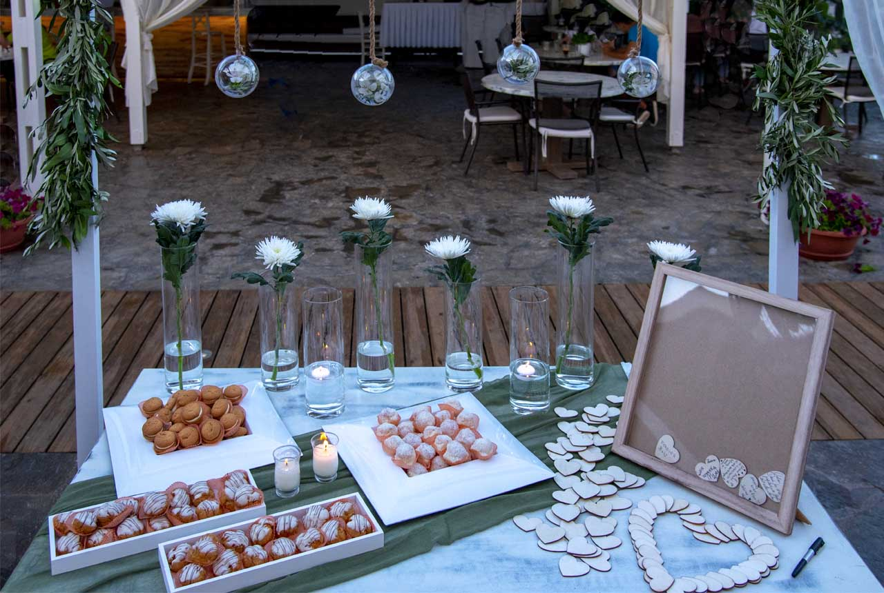 #wishes table #candy table