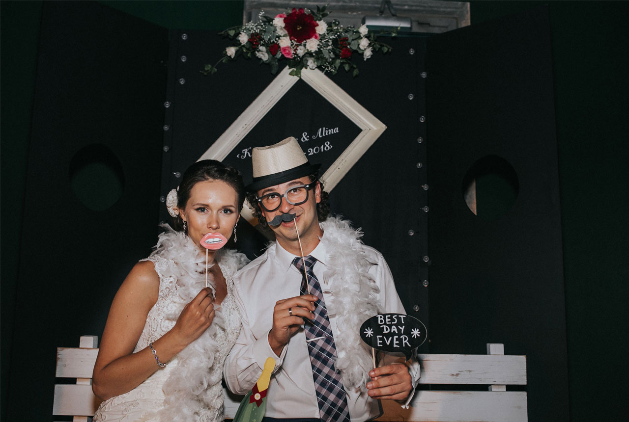 #wedding party #photobooth