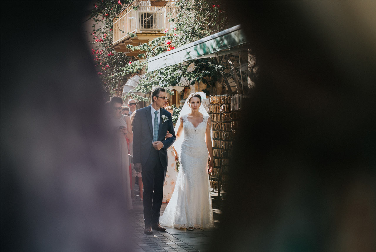 #walking to the church #destination weddings #wedding #nafplio