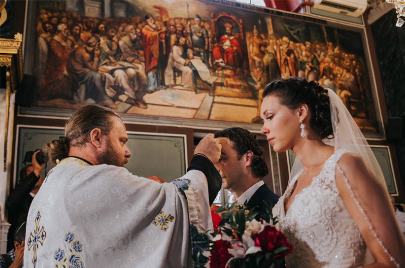 orthodox wedding, destination weddings Greece