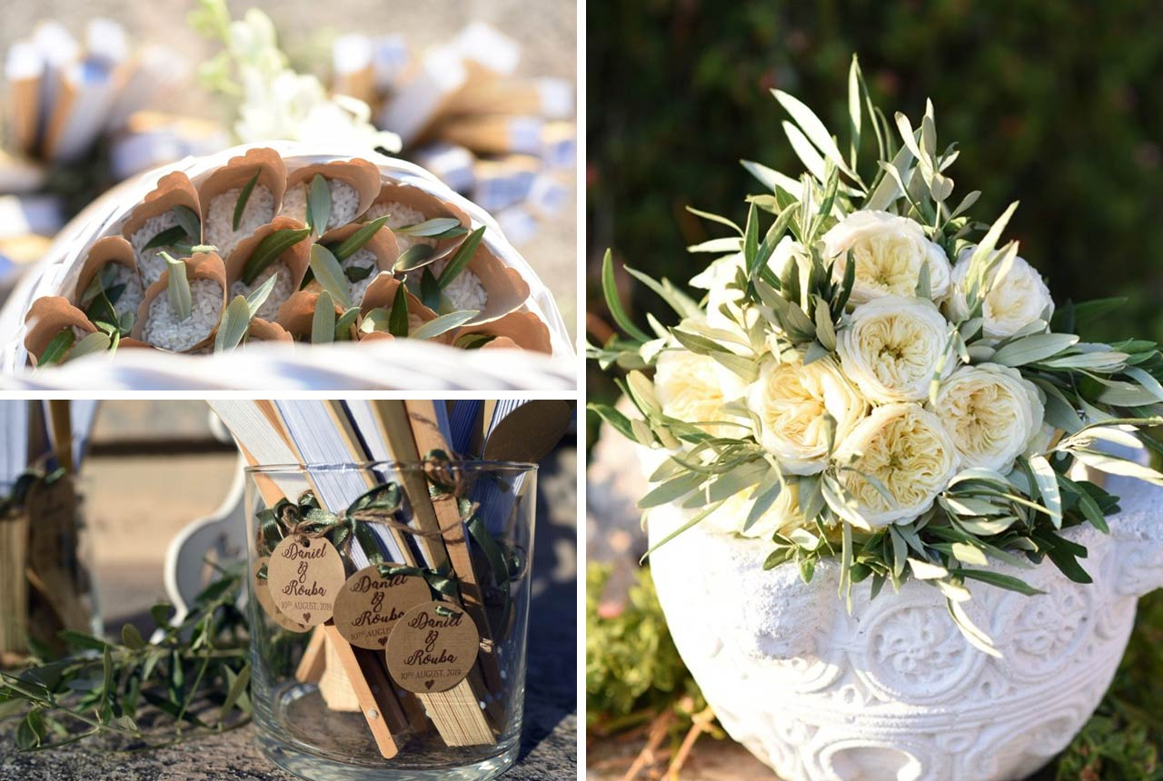 wedding decoration, wedding planning, greece, florals