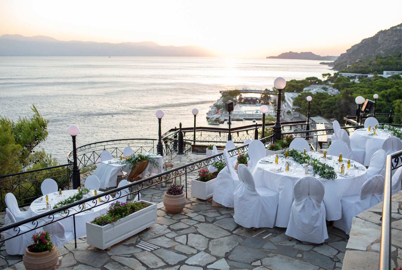 wedding decoration, wedding planning, greece