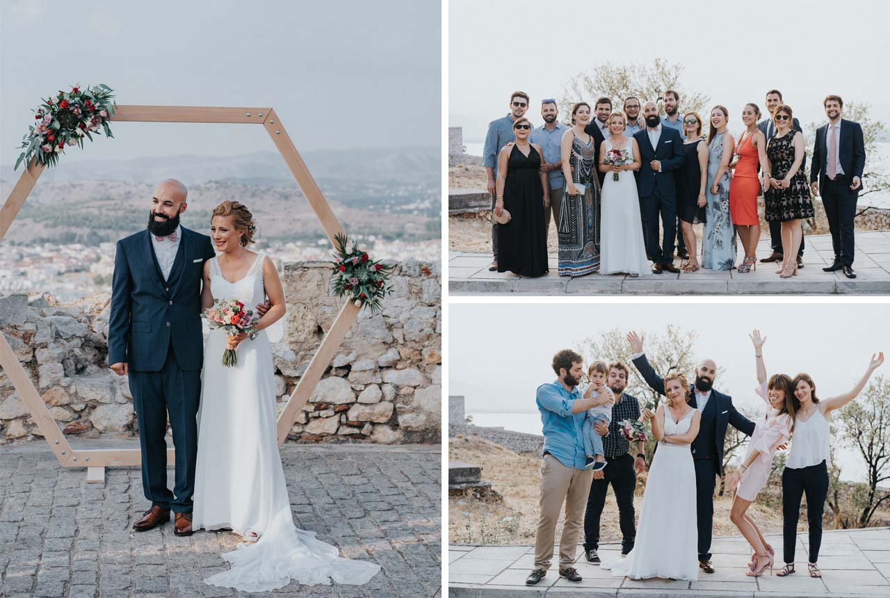 wedding in nafplio, couple photo, civil wedding, wedding planning, discover nafplio weddings, ceremony, couple and family